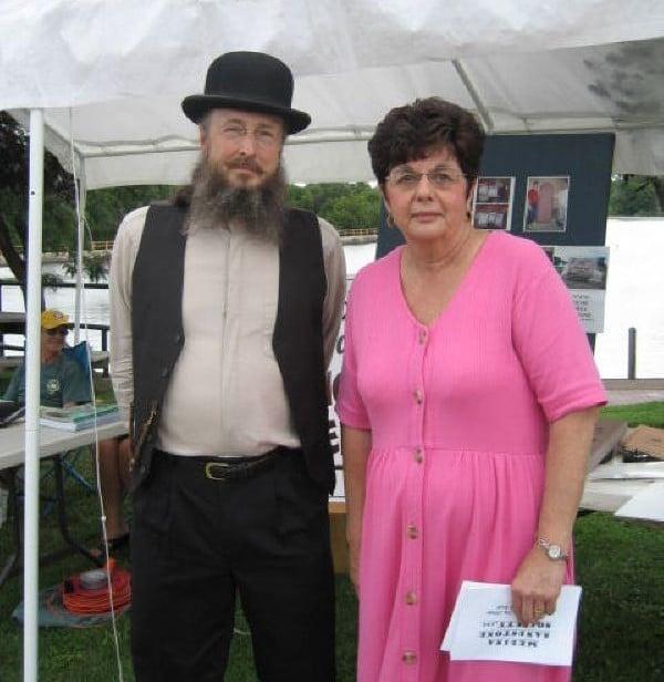 Erie Canal Festival with Historian Bill Lattin and MSS member Maureen Blackburn