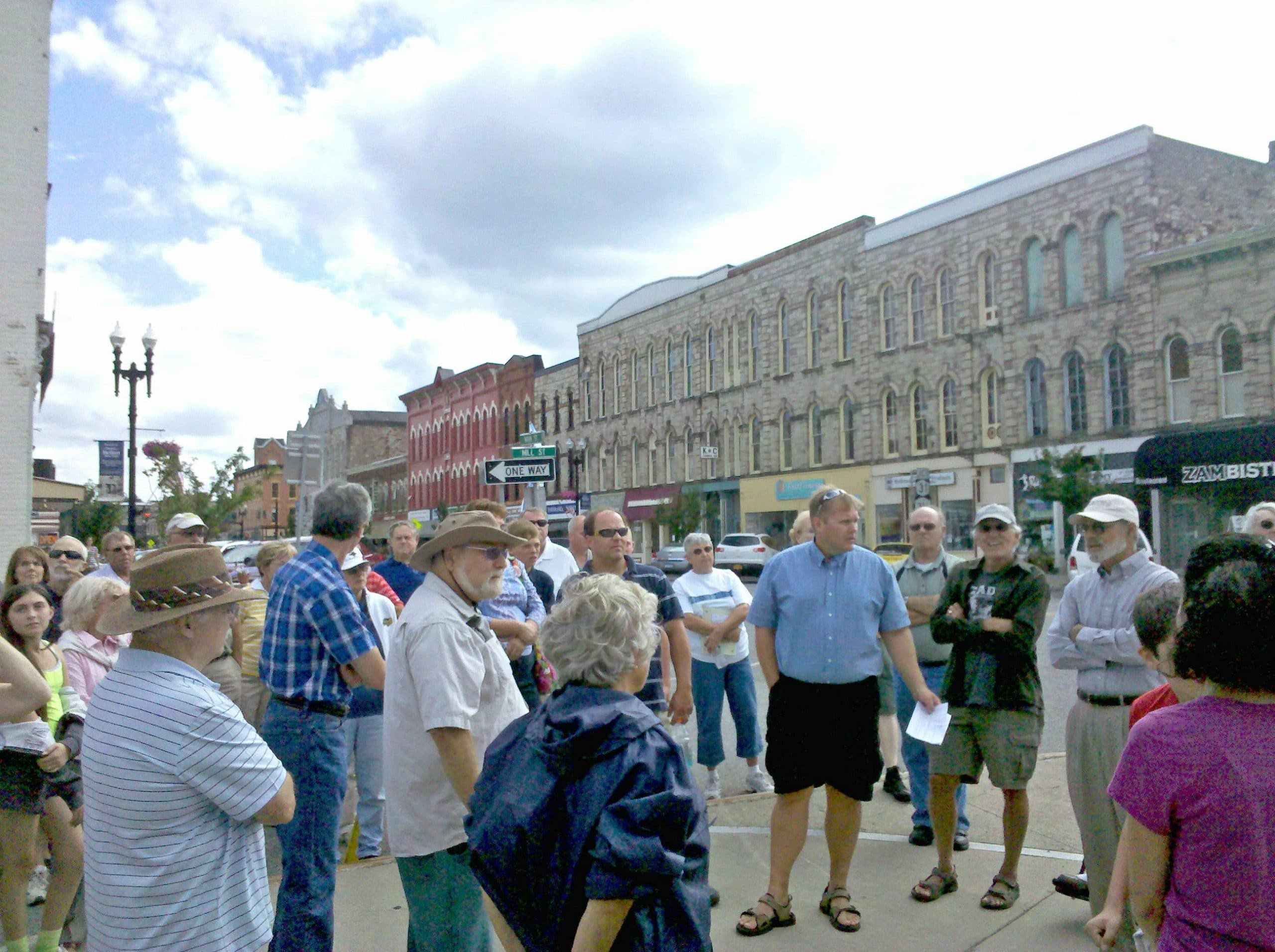 Tour of Main Street Architecture & History, August 2012