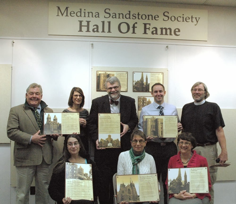 The 2013 Inductees of the Sandstone Hall of Fame