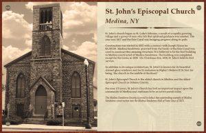 St. John's Episcopal Church, Medina, NY