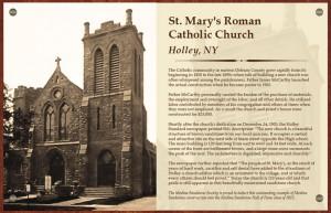St. Mary's Roman Catholic Church, Holley, NY