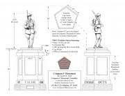 Co F Monument Plans