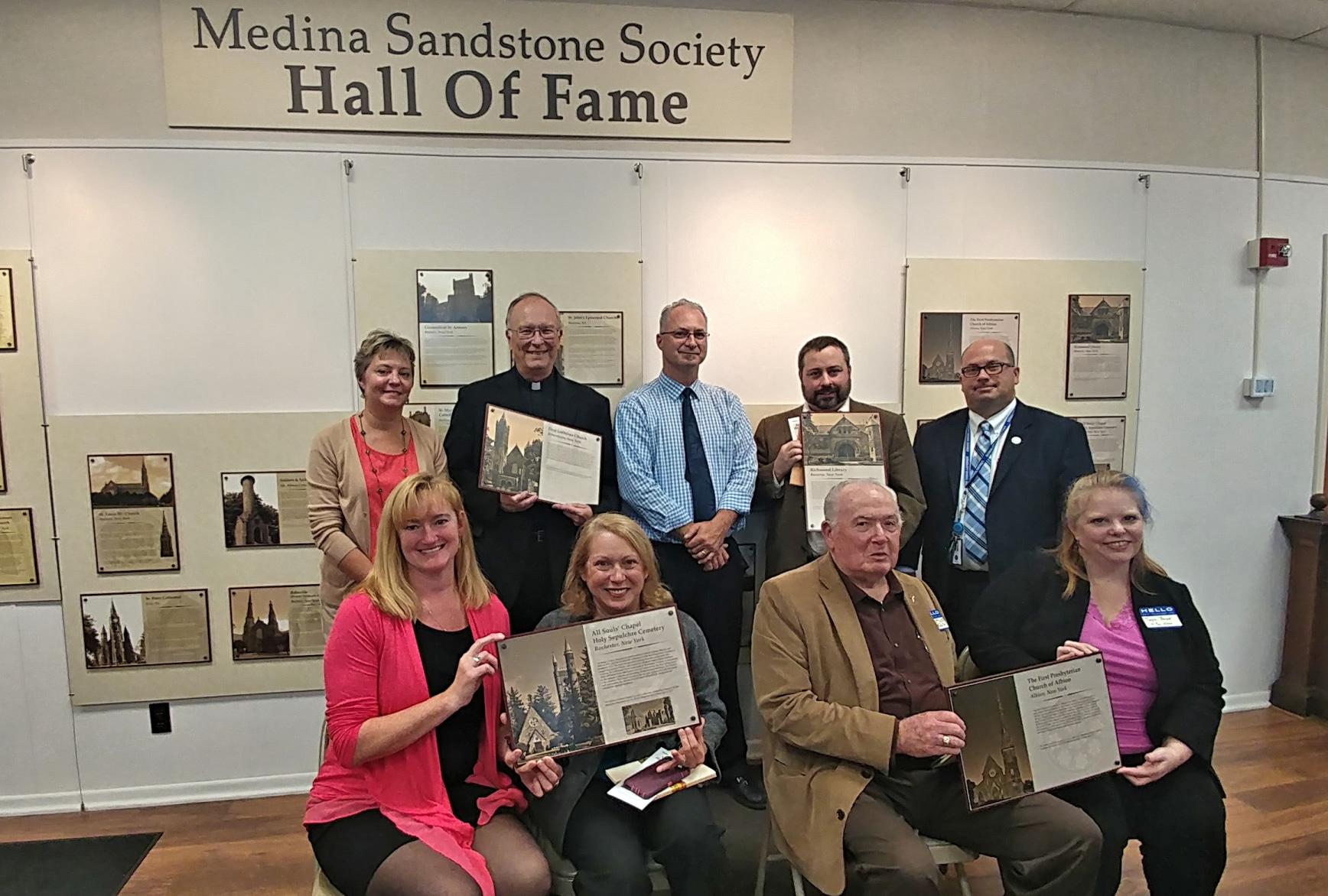2017 sandstone hall of fame inductees medina sandstone society