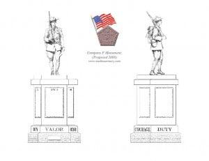 Company F Monument Plans