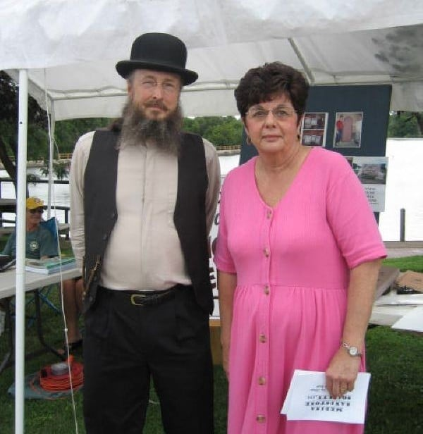 Erie Canal Festival with Historian Bill Lattin and MSS member Maureen Blackburn