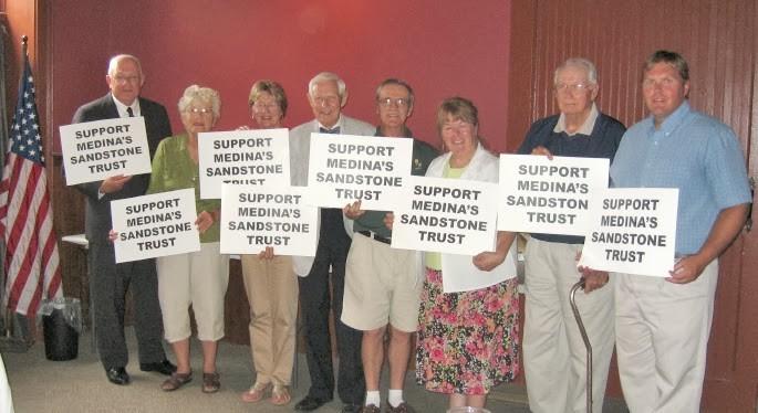 Support Medina's Sandstone Trust campaign, 2012